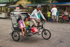 Going Home (Beegee49) Tags: street tricycle driver children pasengers girls young public transport sony silay city philippines asia