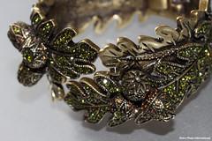 Green Leaves (Retro Photo International) Tags: bracelet leaves green macro carl zeiss jena 50mm 35 tessar