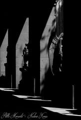 Angel Wings between Light and Shadow.... (darkangel1910) Tags: angel engel lightandshadow lichtundschatten liebezurfotografie ausdemherzenfotografiert schwarzundweis blackandwhite stille momente genova monumentale cimitero staglieno genua friedhof friedhöfe forthelovetothedetail fotografie love liebe leidenschaft liebezumdetail silent moments arte art kunst kunstwerk bildhauerkunst bella italia italy italien europa europe gothic graveyard grabmal grabstätte gedenksteine grabmäler gruftenhalle gravestones gruftengang cemeteries cemetery cimetière darkness dunkel