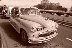 Vanguard Standard 1951, HRDC Track Day, Goodwood Motor Circuit (2) (f1jherbert) Tags: sonya68 sonyalpha68 alpha68 sony alpha 68 a68 sonyilca68 sony68 sonyilca ilca68 ilca sonyslt68 sonyslt slt68 slt sonyalpha68ilca sonyilcaa68 goodwoodwestsussex goodwoodmotorcircuit westsussex goodwoodwestsussexengland hrdctrackdaygoodwoodmotorcircuit historicalracingdriversclubtrackdaygoodwoodmotorcircuit historicalracingdriversclubgoodwood historicalracingdriversclub hrdctrackday hrdcgoodwood hrdcgoodwoodmotorcircuit hrdc historical racing drivers club goodwood motor circuit west sussex brown white sepia bw brownandwhite