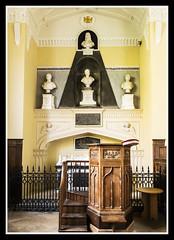 Sherard Monument and Pulpit (veggiesosage) Tags: stmarymagdalene stapleford leicestershire churchesconservationtrust church fujifilm fujifilmx20 x20