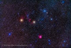 The Clusters and Nebulas of Gemini (Amazing Sky Photography) Tags: 200mm emissionnebula gemini ic443 jellyfishnebula m35 messier35 monkeyheadnebula ngc2158 ngc2174 starshrink supernovaremnant binocular field openstarcluster
