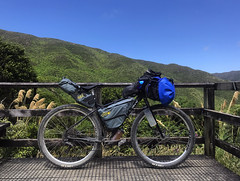 Remutaka 4 (Wozza_NZ) Tags: surly ogre bikepacking mountainbike bike bicycle offroad touring camping steel bags remutaka incline wellington wairarapa upperhutt huttvalley newzealand nz