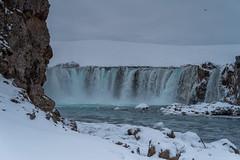 IMGP7509 (jarle.kvam) Tags: godafoss island iceland waterfall water snow winter travelling natur green ice