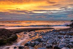 Rockaway Beach. Pacifica, CA. (j1985w) Tags: rockawaybeach pacifica california water rocks sky sunset clouds ocean river