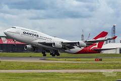 VH-OJS QF B747 01 YBBN-3804 (A u s s i e P o m m) Tags: queensland australia au qantas qf boeing b747 queenoftheskies bne ybbn brisbaneairport brisbane
