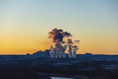 Power Station Steam Sunrise (CraDorPhoto) Tags: canon5dsr dawn sunrise landscape steam colour outside outdoors usa arizona