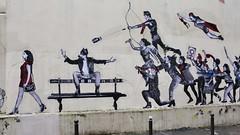 Jaë Ray Mie_1563 rue Bouvier Paris 20 (meuh1246) Tags: streetart paris jaëraymie ruebouvier paris20 loup animaux