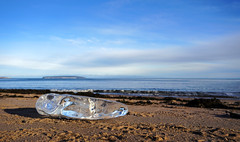 Ice at the Beach (Danny VB) Tags: diamond rock ice beach sand island isle ile bonaventure capdespoir gaspesie quebec canada dannyboy noel navidad december christmas sony mirrorless alpha 6300 a6300 alpha6300 sony6300