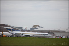 HZ-AB3 Boeing 727-2U5(W) Al-Anwa Establishment (elevationair ✈) Tags: eghl qla lasham lashamairfield uk unitedkingdom england airplane plane aircraft parked avgeek aviation alanwaestablishment boeing 727 722 boeing7272u5w hzab3 trijet threeholer