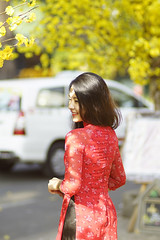 Khúc Ban Mai (C Λ O M I N H H Y) Tags: caominhhee caominhhy morning girls tết vietnam