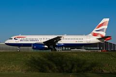 G-EUUV_A320_AMS_08JAN18 (Plane Shots) Tags: a320 ams britishairways eham jetliner geuuv