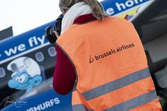 Meet & Greet Brussels Airlines Belgian Icons – Brussels Airport (BRU EBBR) – 2019 01 14 – 07 – Copyright © 2019 Ivan Coninx (Ivan Coninx Photography) Tags: ivanconinx ivanconinxphotography photography aviationphotography brusselsairport bru ebbr airbus airbusa320 airbusa320214 a320 a320214 brusselsairlines oosnd aviation aerosmurf snsmurfs belgianicons avgeek bruspotter