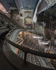 Balcony (www.vanishingnewengland.com) Tags: theater theatre abandoned decay architecture urbex explore nj new jersey travel