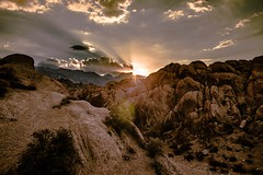 Alabama Hills in special lights (CsiziPhoto) Tags: