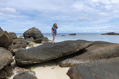 Anse Forbans / Пляж Анс Форбан (dmilokt) Tags: природа nature пейзаж landscape море sea пляж beach песок sand пальма palm небо sky облако cloud dmilokt nikon d850