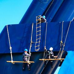 245 Shipcrew (Ulrich Scharwächter) Tags: schiff menschen