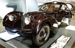 1938 Bugatti 57SC Atlantic (D70) Tags: germany bugatti 57sc atlantic autostadt volkswagenwolfsburg altwolfsburg wolfsburg lowersaxony 1938