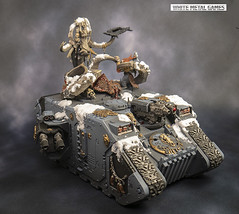 Space Wolves Landraider Excelsior (whitemetalgames.com) Tags: warhammer40k warhammer 40k warhammer40000 wh40k paintingwarhammer gamesworkshop games workshop citadel whitemetalgames wmg white metal painting painted paint commission commissions service services svc raleigh knightdale northcarolina north carolina nc hobby hobbyist hobbies mini miniature minis miniatures tabletop rpg roleplayinggame rng warmongers wargamer warmonger wargamers tabletopwargaming tabletoprpg space wolves command tanks landraider land raider excelsior primaris rhino tank vehicle squadron squad mjolnir pattern wrath mjalnar rath