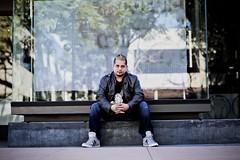Fernando in DT Riverside (mrusc96) Tags: downtown portrait riverside dt dj adidas