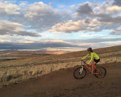 Beck Lake Bike Trails 7 - Cody Field Office (BLM_Wyoming) Tags: mountainbiking becklake berm newrider cody wyoming
