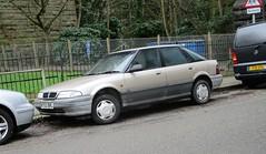 1994 Rover 214i (occama) Tags: m750brl 1994 rover 214i old car cornwall uk british