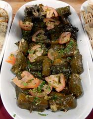 Stuffed grape leaves (carpingdiem) Tags: food rayan stuffedgrapeleaves yemeni