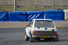 Grant Construction Rally Stages (<p&p>photo) Tags: 38 white 1989 1980s 80s eighties peugeot205gtipeugeot205 gti peugeot 205gti peugeot205gti 205 g198tnd jamesrae rae louisford ford grantconstructionrally rally rallying stages grantconstructionrallystages grant construction knockhillcircuit knockhill racingcircuit knockhillracingcircuit circuit fife scotland uk february2019 february 2019 auto autosport motorsport motors tracksport race motorracing voiture car vehicle wheels worldcars