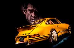 BULLITT (Dave GRR) Tags: porsche 911 carrera classic vintage retro toronto auto show 2019 stevemcqueen steve mcqueen racing speed olympus