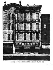 1926 Berinstein  Furniture  68-70 south pearl (albany group archive) Tags: 1920s old albany ny vintage photos picture photo photograph history historic historical