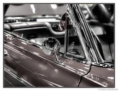 Retro Bow Tie (Robert Streithorst) Tags: bowtie car carshow cavacadecustoms chevy chrome cozywing desaturated robertstreithorst