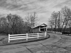 Snooks Covered Bridge (George Neat) Tags: snooks covered bridge transportation scenic scenery landscapes bedford county blackwhite blackandwhite bw georgeneat pa pennsylvania patriotportraits neatroadtrips outside