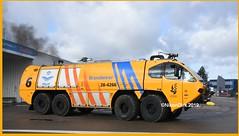 Dutch E-One 28-4266. (NikonDirk) Tags: nikondirk fire department eone luchtmacht brandweer truck crashtender ministry defense ehvk military engine hulpverlening foto lm5983 284267 284266 284063 lm5982 lm5988 gilze rijen kenbri rnlaf