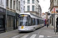 7319 10 (brossel 8260) Tags: belgique antwerpen anvers tram delijn