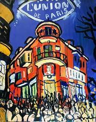 10. Cycle of Plovdiv Landscapes, oil on canvas, 80х65сm, 2019 (Marinova Pavlina) Tags: exhibitionartbulgariawatercolorsleeplessness e exhibitionvihronipopnedelevlandscapes from plovdiv