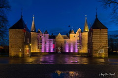 Helmond castle (McGuiver) Tags: olympus em5markii zuiko1240 helmond noorbrabant holland netherlands holanda nightphotography bluehour nocturnas castells castillos castles