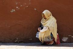 Poverty (klauslang99) Tags: klauslang streetphotography poverty woman sidewalk guanajuato mexico