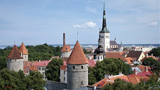 Blick vom Domberg auf die Altstadt