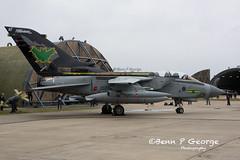 TORNADO-GR4-AF-ZG775-8-3-19-RAF-MARHAM-(3) (Benn P George Photography) Tags: rafmarham 8319 bennpgeorgephotography tornadofinale mightyfin tornado gr4 af zg775 dh zd716 batman goldstars 9sqn 31sqn nikon nikond7100 nikon18105vr nikon24120f4 royalairforce