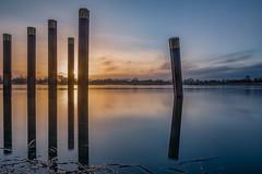 DSC03296 (karstenlützen) Tags: germany brandenburg oderland oderbruch lebus riverside waterfront reflections longexposure