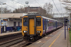 Northern 156459 (Mike McNiven) Tags: arriva railnorth northern dmu diesel multipleunit sprinter supersprinter manchesterairport manchester airport liverpool limestreet warrington central healdgreen
