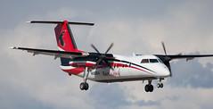 DHC-8 | N883EA | ANC | 20150510 (Wally.H) Tags: bombardier dehavillandcanada dhc8 dash8 n883ea ravnalaska anc panc anchorage airport