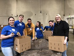 "Topline and Nordstrom employees helped feed Seattle's needy. • <a style=""font-size:0.8em;"" href=""http://www.flickr.com/photos/45709694@N06/47489572072/"" target=""_blank"">View on Flickr</a>"