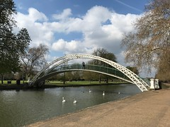 Photo of Suspension Bridge, River Great Ouse, Bedford