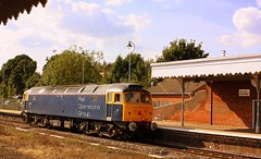 Sulzer at Bury st Edmunds (Chris Baines) Tags: rog 47812 bury st edmunds working eastleigh arlington ely papworth sidings