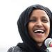 Congresswoman Ilhan Omar Smiling