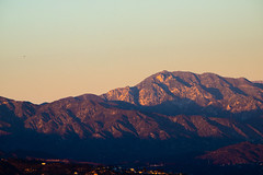 Long Shadows on the Mountains (vandusenerik) Tags: mountain mountains san gabriel socal southern california los angeles kenneth hahn sunset sky la nikon d800 landscape nikkor
