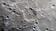 Luna 28 12 18. 114 / F8 - 900 X taller glaucoart (glaucoaster) Tags: moon crater luna 900 aumentos samsung s4 telescopio foco 114f8 h4 ocular zoom multiplexado digital 13 megapixel tycho albategnius hiparchus halley horrocks hindhalley