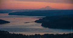 Rainier Dusk Zeiss 100-300mm (www.mikereidphotography.com) Tags: sunset rainier landscape fuji gfx50s