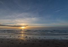 Irvine Sunset (Mac ind Óg) Tags: beach scotland northayrshire irvine landscape walking seascape gailesbeach driftwood winter sunset